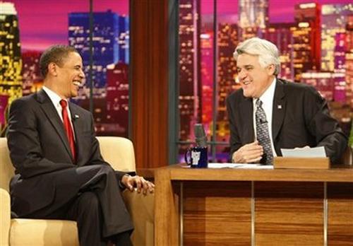 Laughing Obama